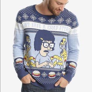 Bob's burgers Tina Belcher holiday sweater